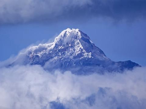 El Chimborazo es el punto más alto de la Tierra, pero no la montaña más alta del mundo.