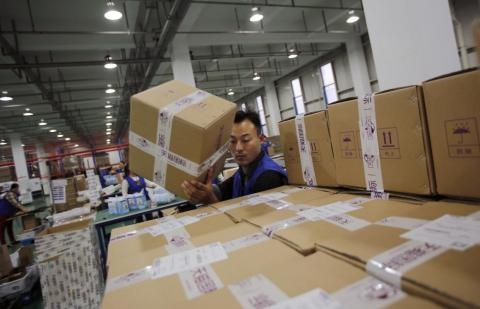 China is home to a retailer bigger than Walmart and Amazon