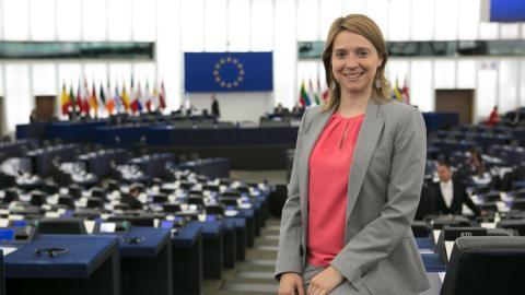 Cláudia Monteiro de Aguiar, eurodiputada del Partido Social Demócrata portugués