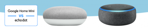 Comparación Google Home Mini & Amazon Echo Dot