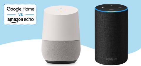 Comparativa Google Home & Amazon Echo