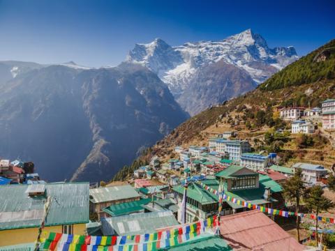 En contraste, las montañas del Himalaya están creciendo