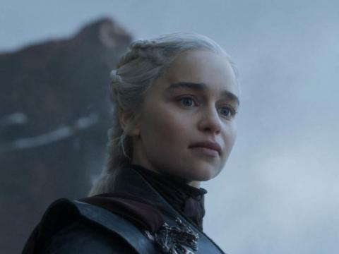 Dany gives her final speech.