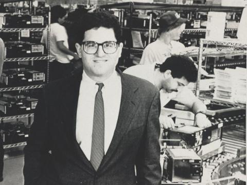 Fundador de Dell Michael Dell - Edad 21