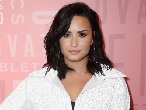 Demi Lovato en mayo de 2018.