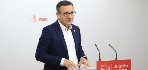 Diego Conesa, candidato del PSOE a la alcaldía de Murcia