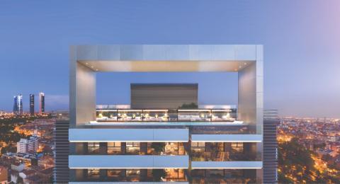 Diseño de la futura azotea de los edificios del proyecto Skyline