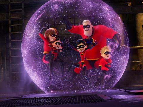"A scene from ""Incredibles 2."""