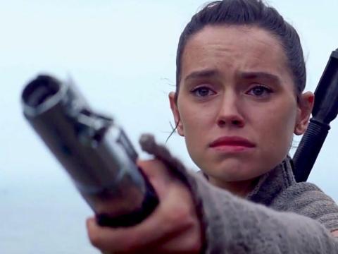 """Rey in """"The Last Jedi."""""""