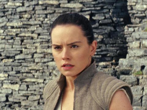 "A scene from ""The Last Jedi."""