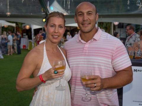Garrett y Melanie Marrero, cofundadores de Maui Brewing Company.