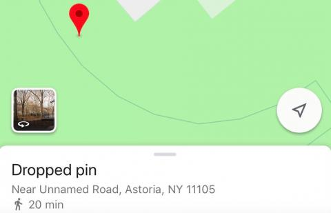 Drop a pin to easily show friends where you are.