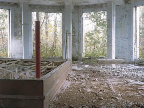 Cuadriátero, Palacio de la Cultura Pripyat, 2012.