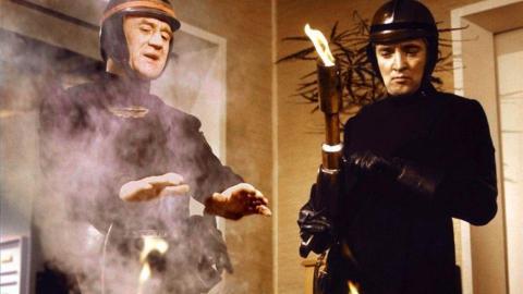 Earbuds —'Fahrenheit 451,' 1966