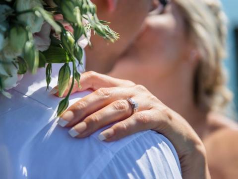 Un anillo de compromiso