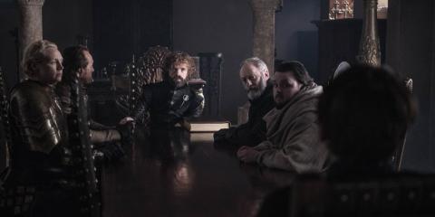 Una escena del último capítulo de Juego de Tronos
