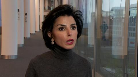 La exministra de Justicia francesa y eurodiputada del partido Les Républicains, Rachida Dati