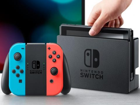 The extremely popular Nintendo Switch