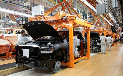 Fábrica de Fiat Chrysler Automobiles  en Estados Unidos.