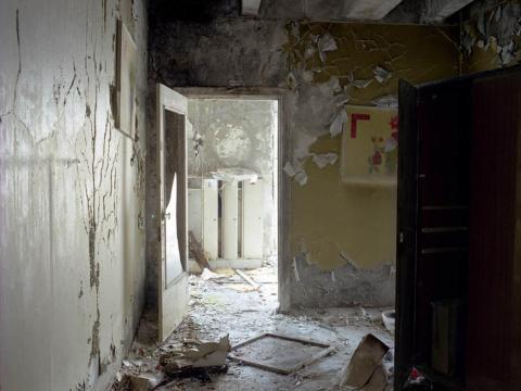 Habitación amarilla, Pripyat, 2005.