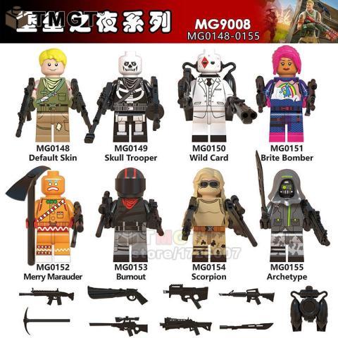 Figuras Lego Fortnite