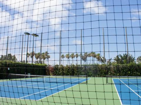 Fisher Island's professional tennis courts have been ranked No. 1 in the East Coast region of the US by Tennis Magazine.