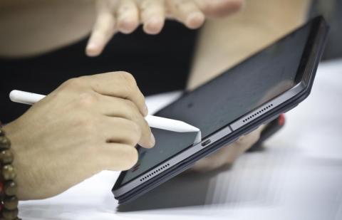 El iPad Pro.