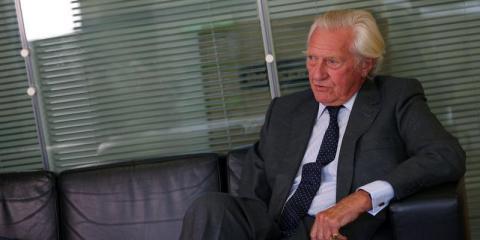 El ex viceprimer ministro británico Michael Heseltine