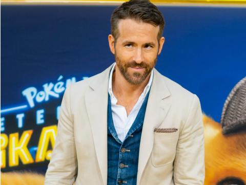 "Ryan Reynolds at the premiere of ""Detective Pikachu."""