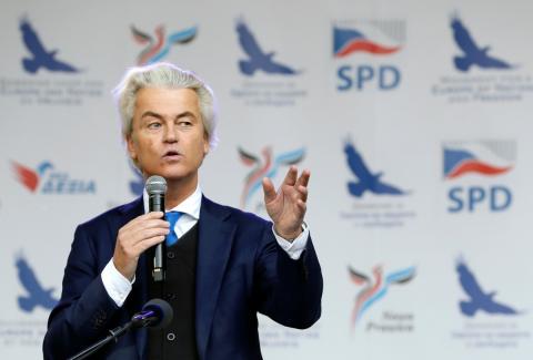 Geert Wilders, líder del Partido por la Libertad