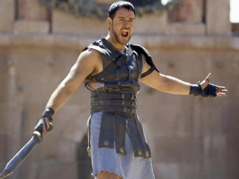 """Russell Crowe in """"Gladiator."""""""