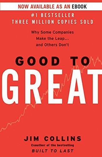 Good to Great, escrito por Jim Collins