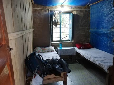 Las habitaciones en todos los teahouse son muy similares (y básicas).
