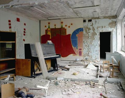 Aula de música, guardería, Pripyat, 1995.