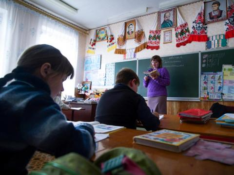 """Hot meals in the schools were the only clean food, which was tested for radiation, for the children,"" Natalya Stepanchuk, a teacher in Zalyshany, told the AP in 2016. ""Now the children have gone over to the local food, over which"