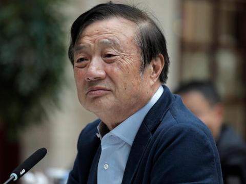 Huawei CEO and founder Ren Zhengfei.