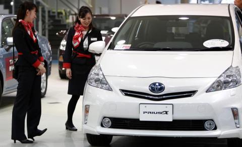 El Toyota Prius fue uno de los primeros vehículos híbridos modernos.