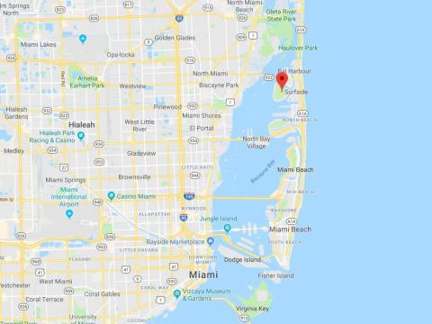 """Indian Creek is a village of just 42 people on a tiny private island in Miami's Biscayne Bay. It's been nicknamed the """"Billionaire Bunker"""" for its wildly wealthy and high-profile residents, including the billionaire investor Carl"""