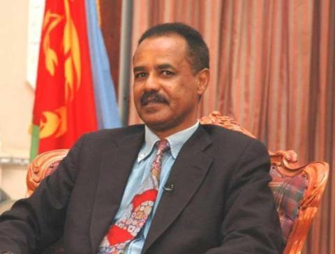 Isaias Afewerki, dictador de Eritrea desde 1991