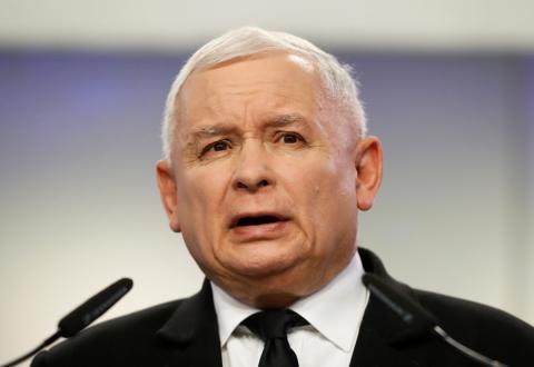 Jarosław Kaczyński, líder de Ley y Justicia
