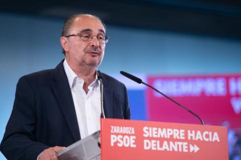 Javier Lambán, candidato a la presidencia de Aragón del PSOE