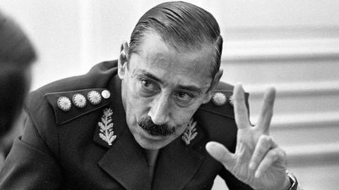 Jorge Rafael Videla, dictador de Argentina entre 1976 y 1981