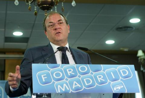 José Antonio Monago, candidato del PP a la presidencia de Extremadura