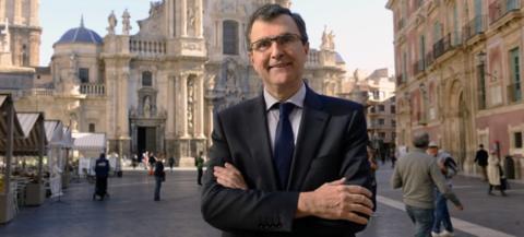José Ballesta, candidato del PP para la alcaldía de Murcia
