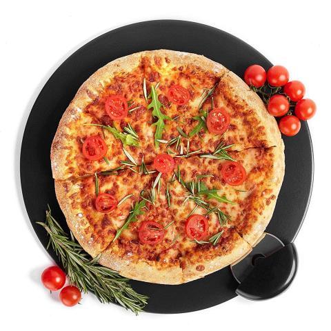 Juego de piedra para pizza