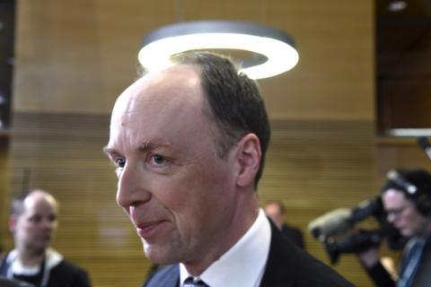 Jussi Halla-aho, presidente del Partido de los Finlandeses