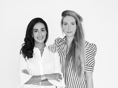 Sophie Kahn y Bouchra Ezzahraoui, fundadoras de AUrate New York.
