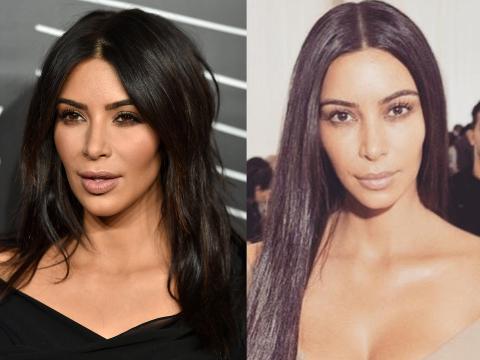 Kim muestra con orgullo su rostro sin maquillar.