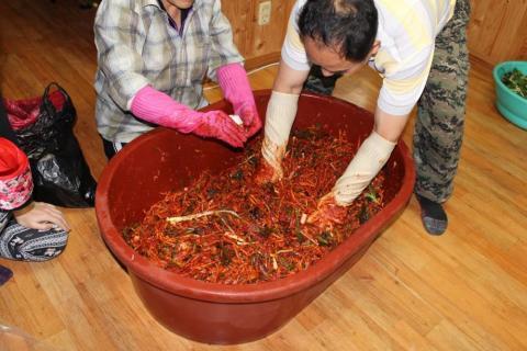 Kimjang forma de preparar conservas Corea del Sur