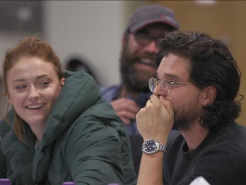 Aquí es cuando Kit Harington se entera que Jon Nieve será quien asesine a Daenerys